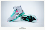 nike lebron 9 ps elite grey candy pink 9 42 sneakerbox LeBron 9 P.S. Elite Miami Vice Official Images & Release Date