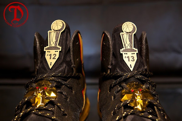 LeBron X PS Elite 8220Championship8221 for King James by Dank Customs