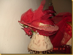 red hat-made by Theresa Diaz Gray