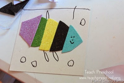 Rainbow Fish Puzzles from Teach Preschool