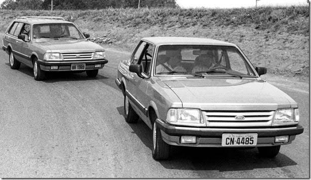 FORD MOTOR COMPANY BRASIL Ford foto antiga do Del Rey 1989