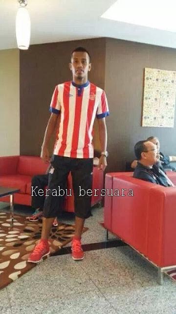 Jersi terbaru AFC Pasukan Kelantan