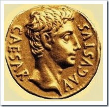 Cesar Augusto - moeda