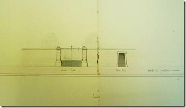 Projet de portail pour le nouveau cimetière en 1841