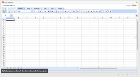 Abrir documentos de office