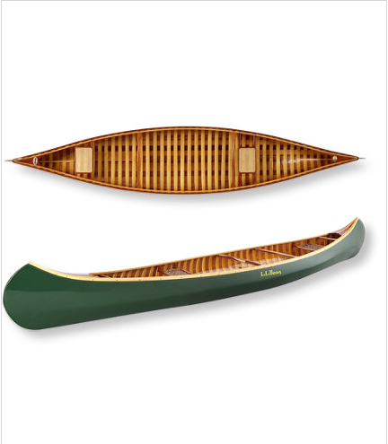 The anniversary edition canoe by Old Town is so beautiful.  Only 10 of them are being made.