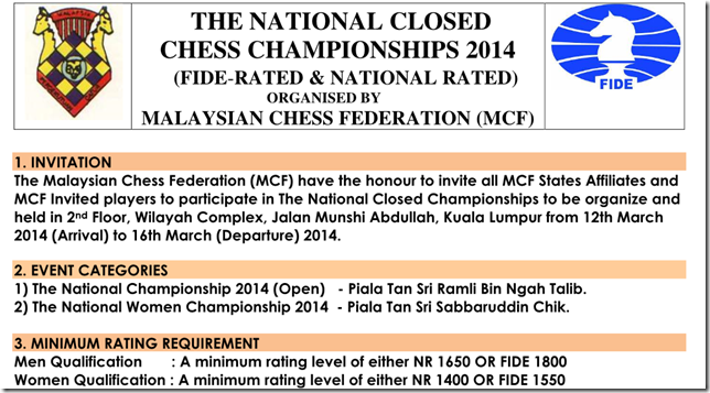 National CLosed Championship 2014