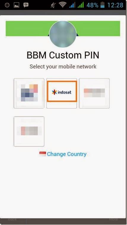tutorial berlangganan pin BBM android