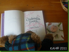 Sleepy Bear Reads His Autographed Book - June 2011