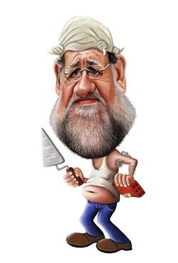 Rajoy obrero_caricatura_kikelin