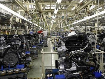 Fábrica da Nissan Motor em Iwaki, em Fukushima, no Japão: sentimento econômico medido junto às maiores fabricantes do país ficou positivo em 5.0 entre abril e junho