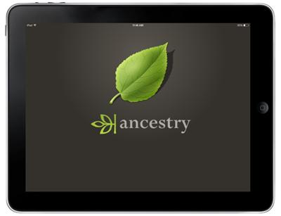 Ancestry mobile app