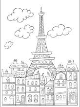 torre eiffel colorear (4)