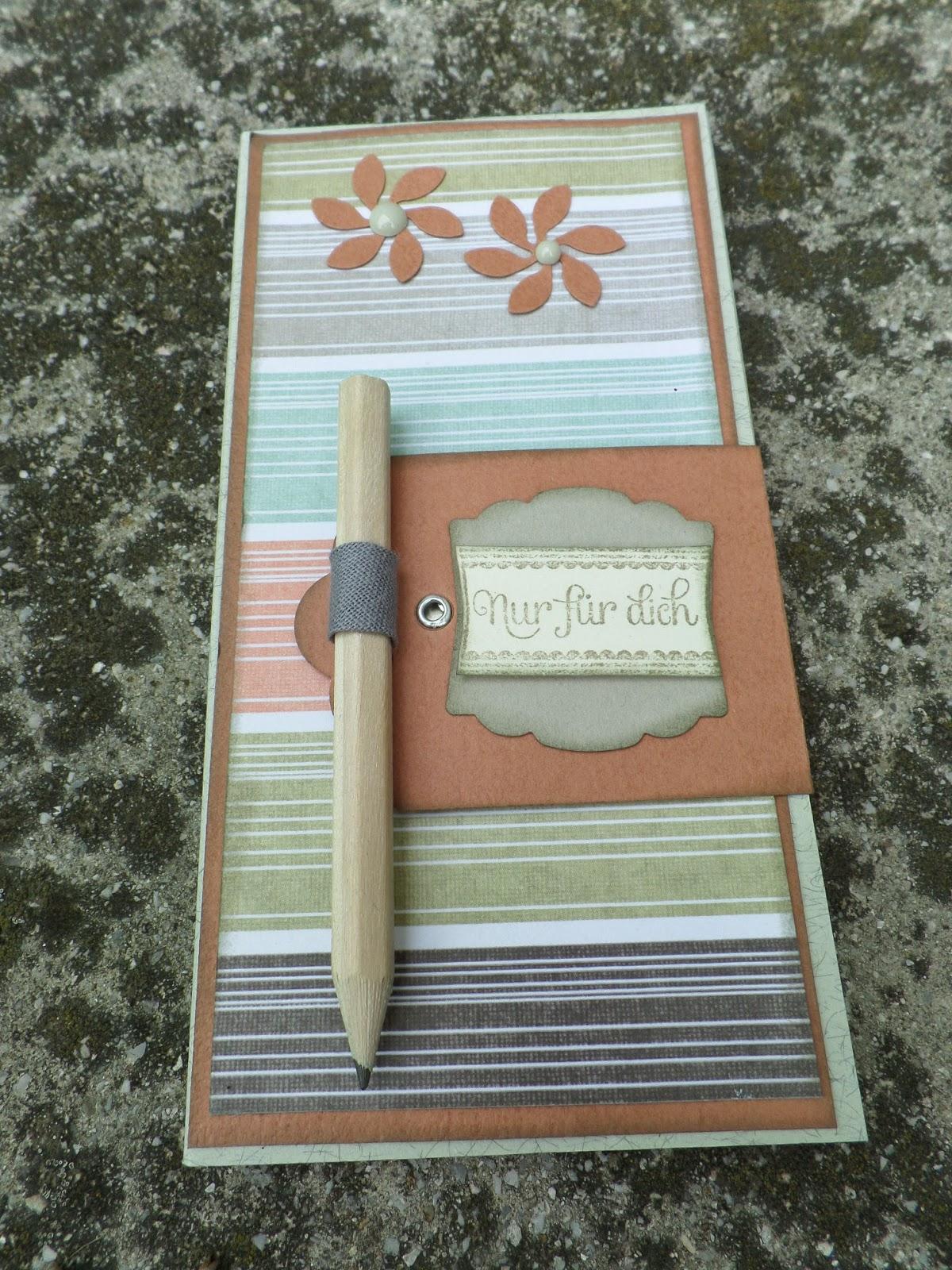 Jutta\'s PaperBlog: Notizen nett verpackt!