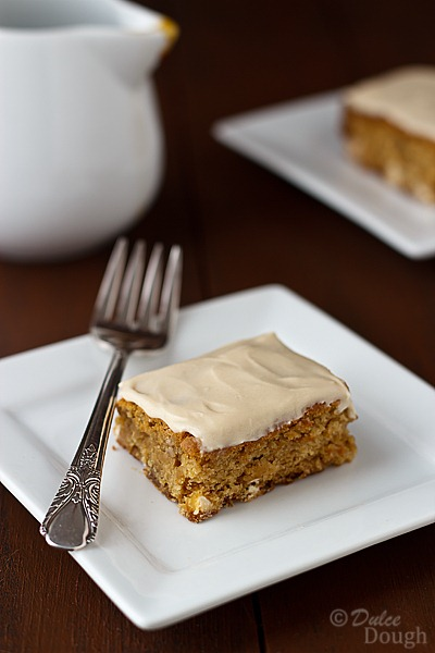Maple-Blondies