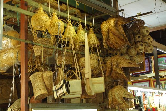 Bamboo Cane Store at Bogyoke Aung San Market, Yangon