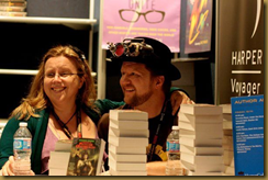 Pip and Tee at their ComicCon NY signing
