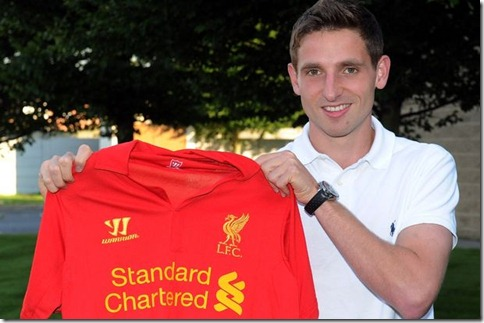 Joe Allen Signs For Liverpool FC