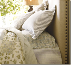 pottery barn sheets