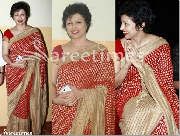 Gauthami_Red_Silk_Saree