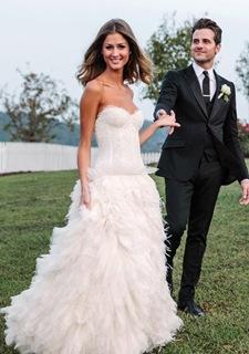 Celebritied Wedding Dress