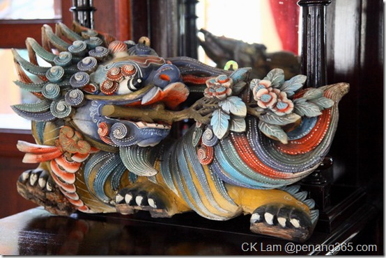 Baba Nonya and Chinese antique furniture and collectibles In Seven Terraces, Penang by CK Lam