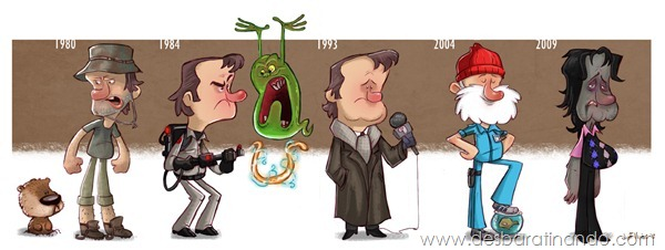 Jeff-Victor-The-Evolution-of-the-Famous-Actors-Bill-Murray-final