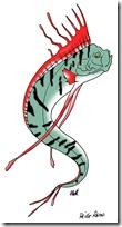peces clipart blogolorear (5)