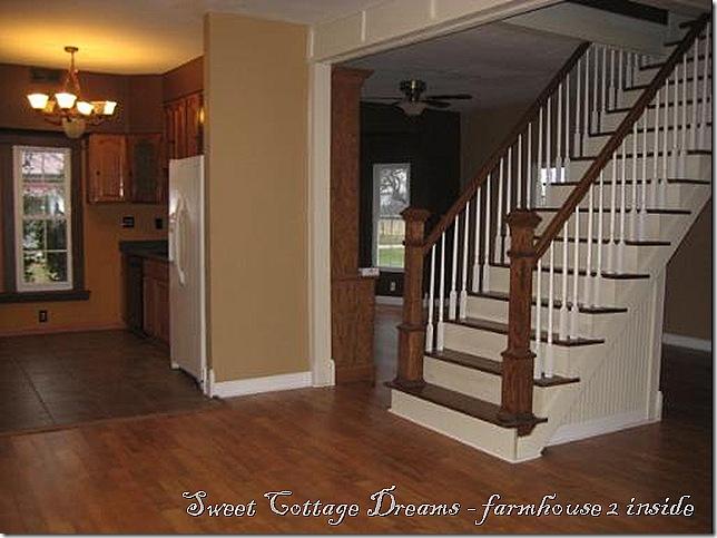 farmhouse 2 inside stairs