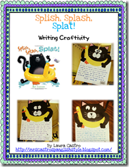 Splat Writing Craftivity - Bilingual Cover