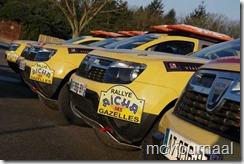 Voorbereiding op de Rally in Marokko 2013 01