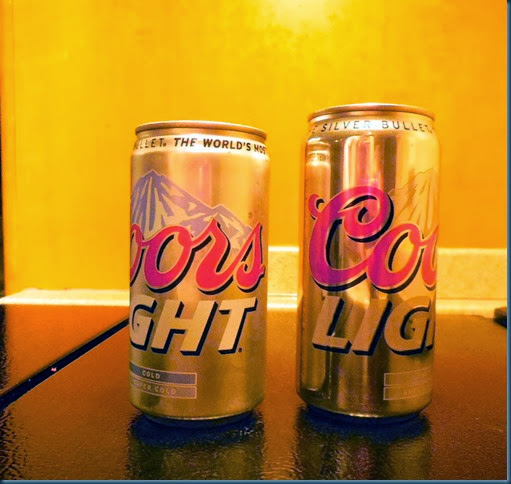 Coors Cans