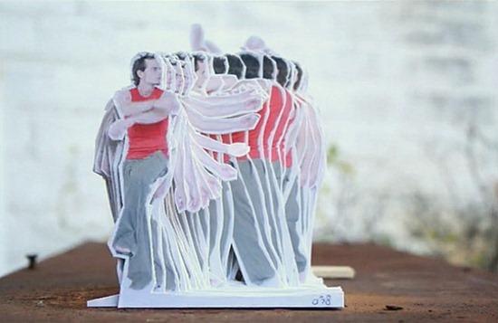 Dança do papelão Rogier Wieland