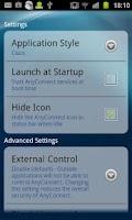 Screenshot of Samsung (< SEP2011) AnyConnect