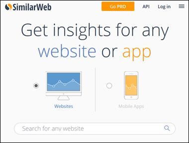 Analise a audiência do seu blog e de seus concorrentes com o SimilarWeb - Visual Dicas