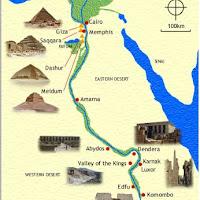 04.- Mapa de Egipto