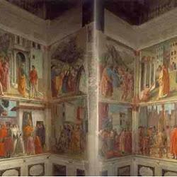 42 - Masaccio - Frescos de la Capilla Brancacci en la Iglesia del Carmen en Florencia