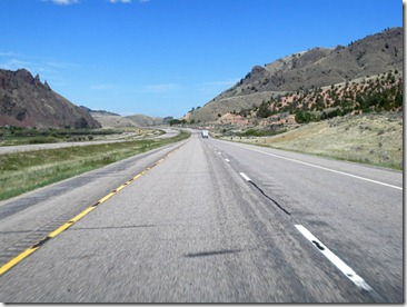 Heading northeasterly on I-15 near Beaverhead Montana