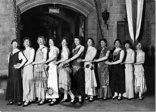 Gay-'Senoritas'-ballet-of-the-minstrel-show-at-the-Capitol-Theatre,-Halifax,-Nova-Scotia,-Canada,-April-1931