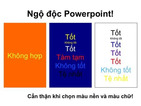 ppt 4 chon mau