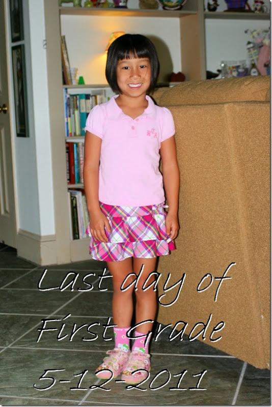 last day 1st grade