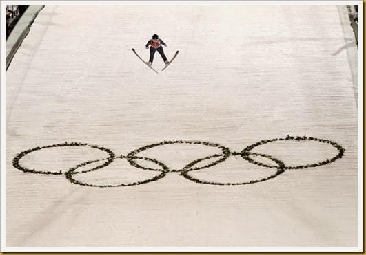 women's ski jump