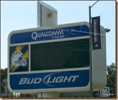 San Diego Chargers Stadium.
