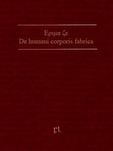 Εριμα ζε De humani corporis fabrica Cover