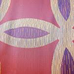 Ekskluzywna tkanina trudnopalna. Na zasłony, poduszki, narzuty, dekoracje. Fioletowa.