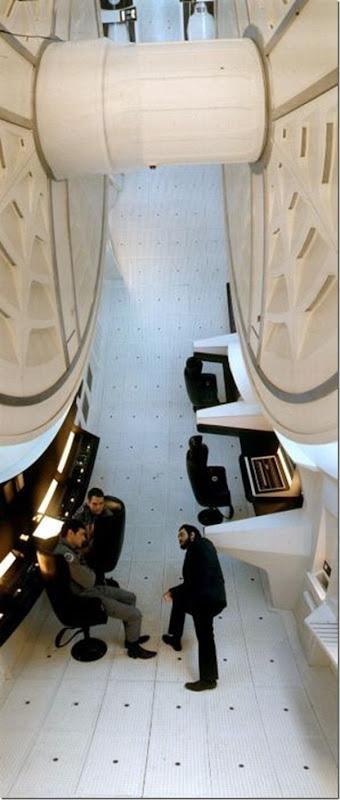 2001 Uma Odisséia no Espaço - O conjunto da nave