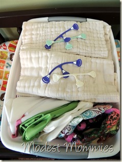Cloth Diapering - Newborn Container