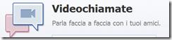 videochiamate facebook