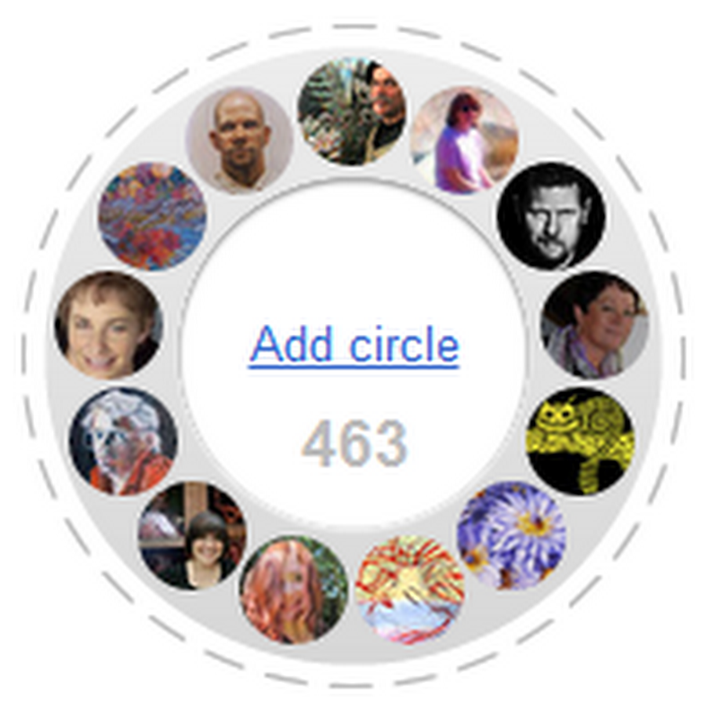 Join Our Google Plus Artist Circle
