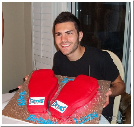 boxing gloves cake 030a